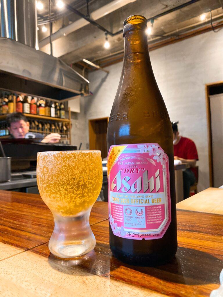 yakitoriyurei-beer